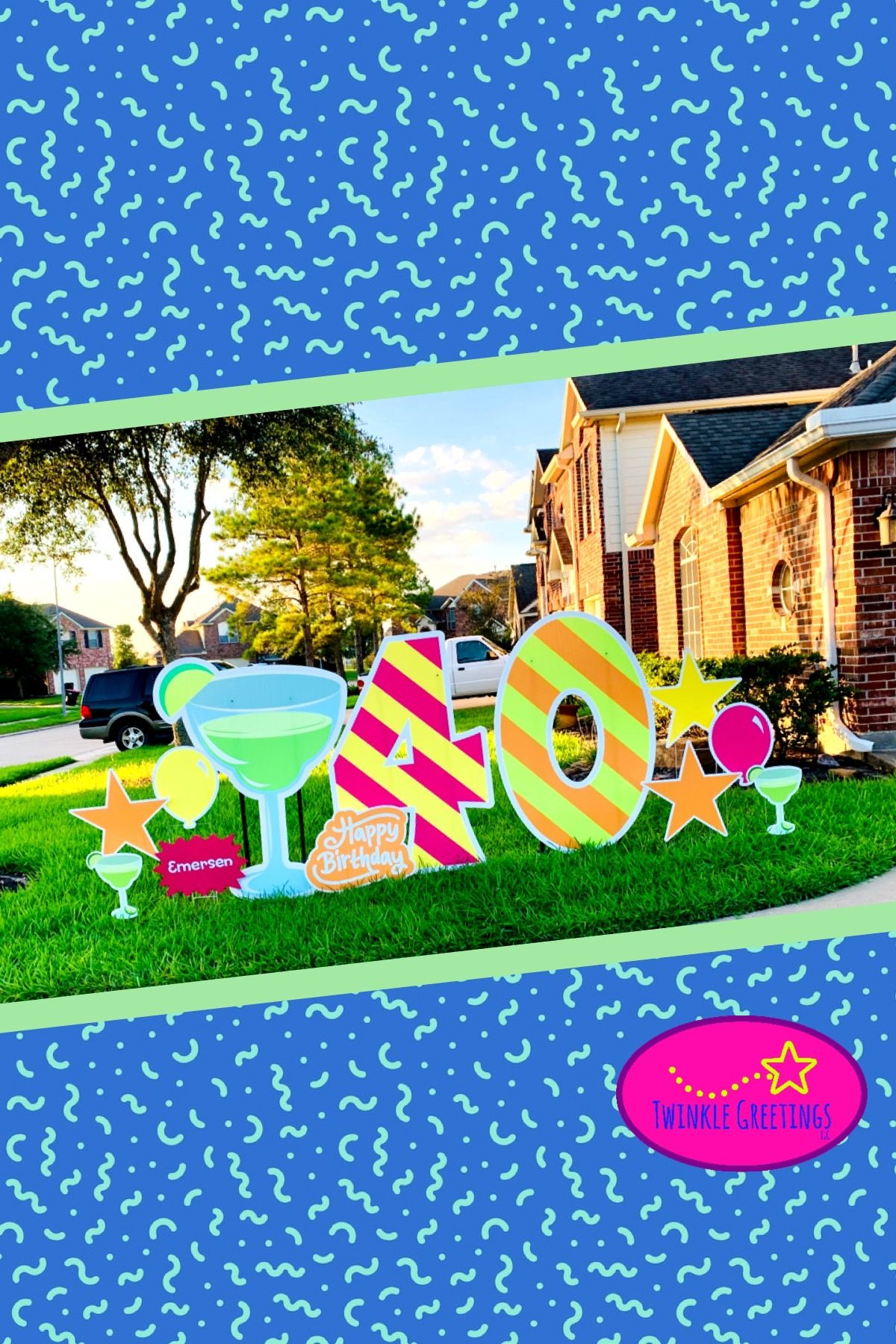 Rent a yard greeting for your next party! # ...