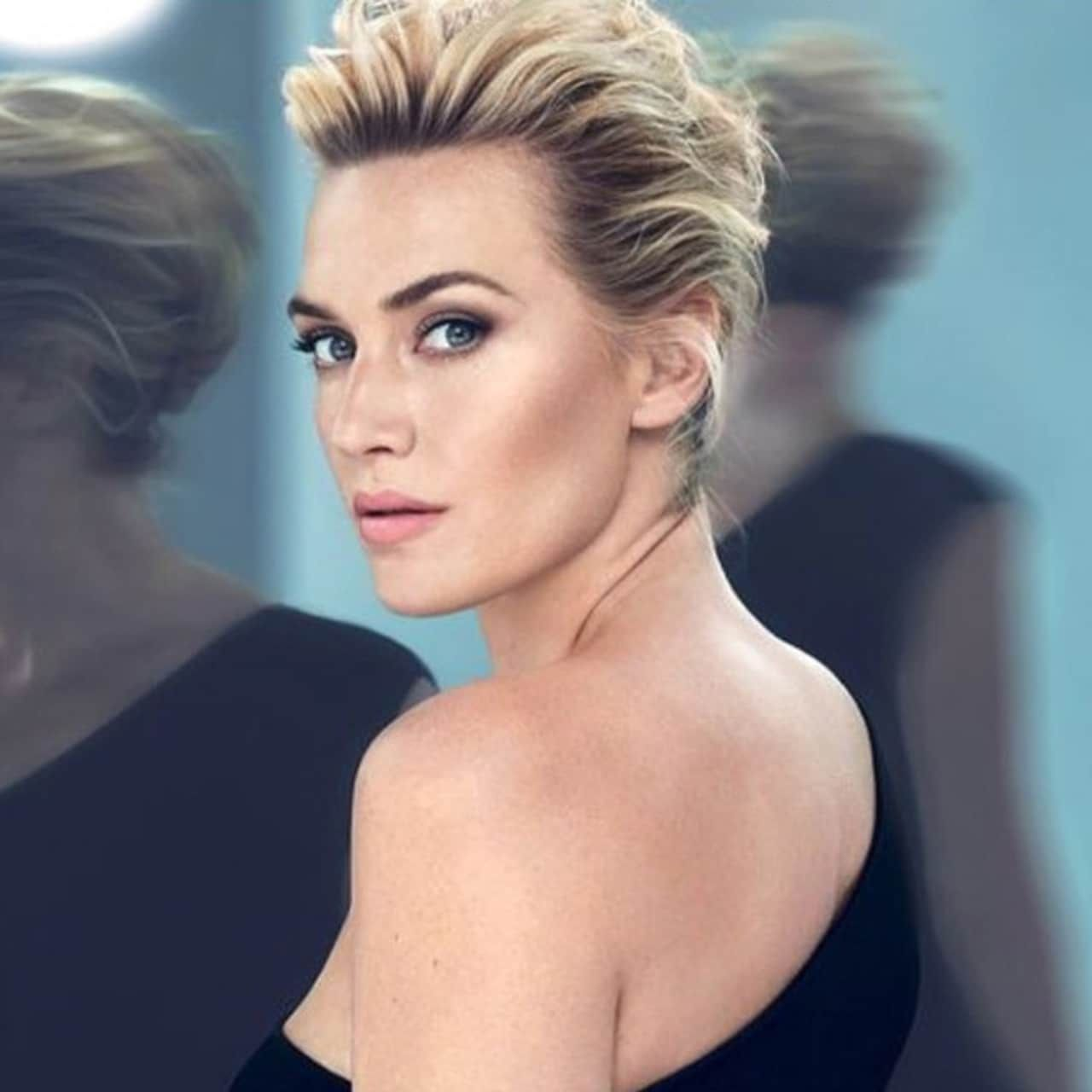 Kate Winslet For Lancome Short Hair Styles Kate Winslet Modern Short Hairstyles