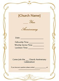 Church anniversary ideas available free such as church anniversary church anniversary ideas available free such as church anniversary invitations letters certificates stopboris Images