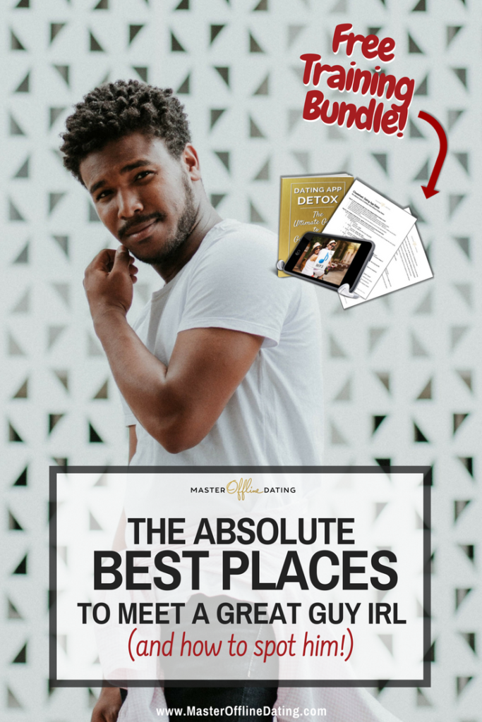 Best places to meet a guy