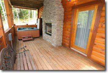 Maybe We Should See If A Fireplace Can Be Added To The Screened In Porch Area Near The Indoor Fireplace It Could Be Added T Gatlinburg Cabins Gatlinburg Cabin