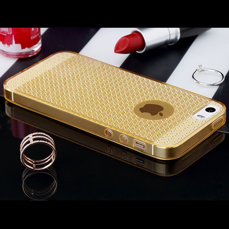 5s luxury tpu silicone case for iphone 5 5s ultra thin