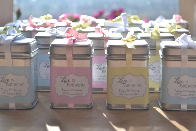 Mini Tea Tin Diy Favors Super Cute Cool Ideas Pinterest Tea
