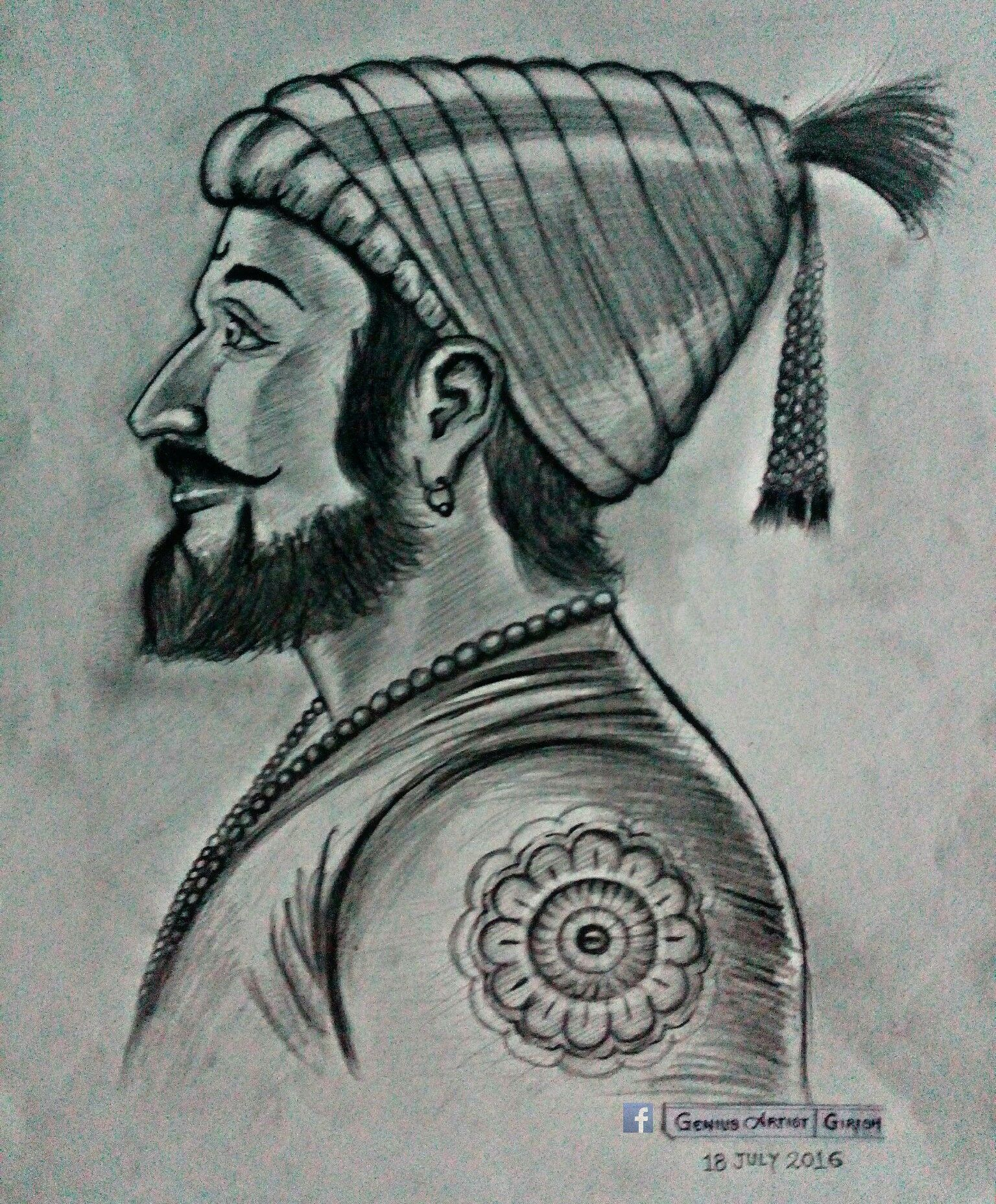 Shivaji raje cool sketches drawing sketches pencil drawings shivaji maharaj hd wallpaper