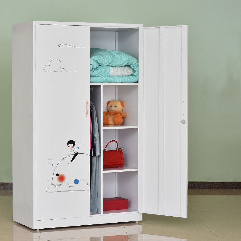 Children Bedroom Metal Locker Wardrobe For Storage Clothes The Large Space And It Can Tailor Made As Almirah Designs Baby Bedroom Furniture Cupboard Storage