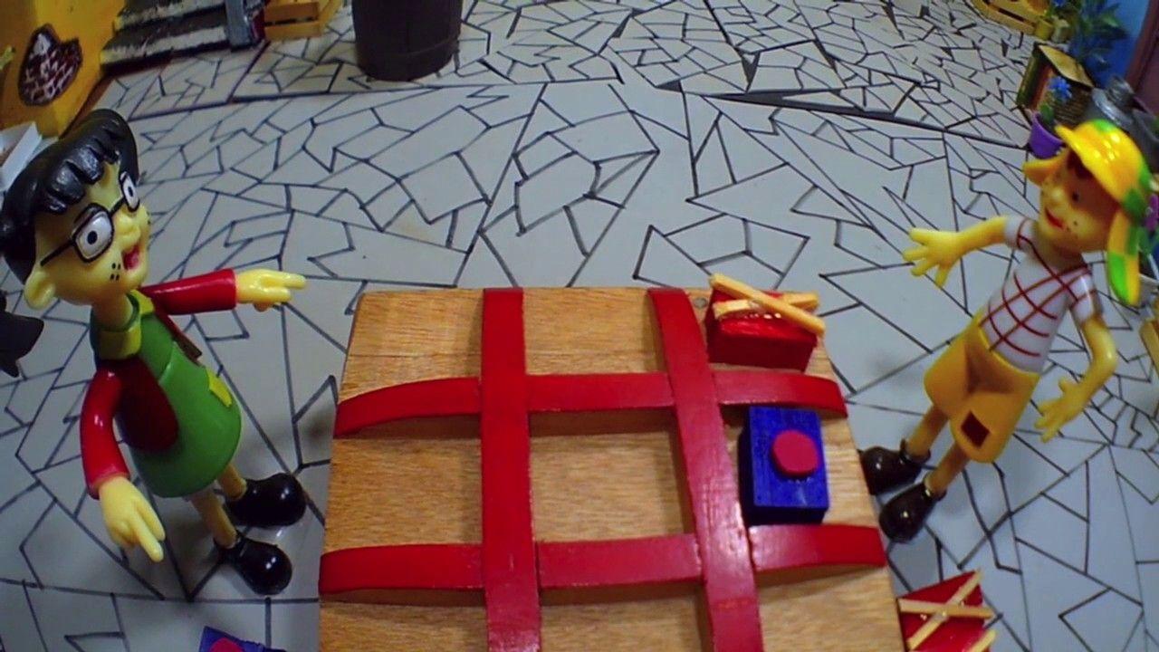 El Chavo del Ocho / Novelinha da Turma do Chaves #17 / Jogo da Velha / B...  | Brinquedos para crianças de 5 anos, Turma do chaves, Jogo da velha
