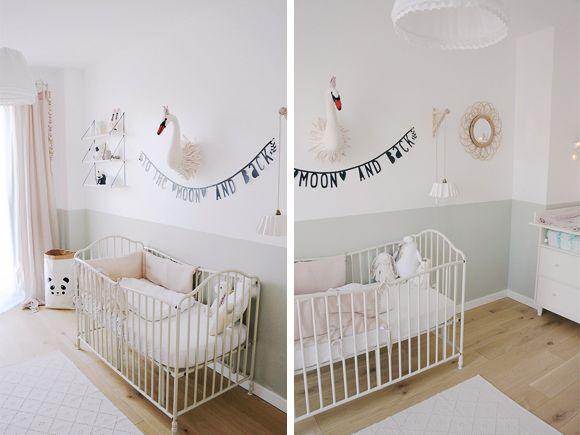 Idée peinture chambre fille, voici une jolie chambre pour vous - peinture chambre bebe fille