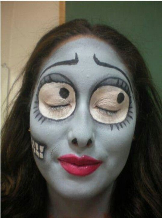 Now that is some awesome makeup! Cool Arse Schnit Pinterest - different halloween costume ideas