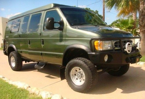 Sell Used 2002 Ford Econoline Sportsmobile 4x4 Quigley Van