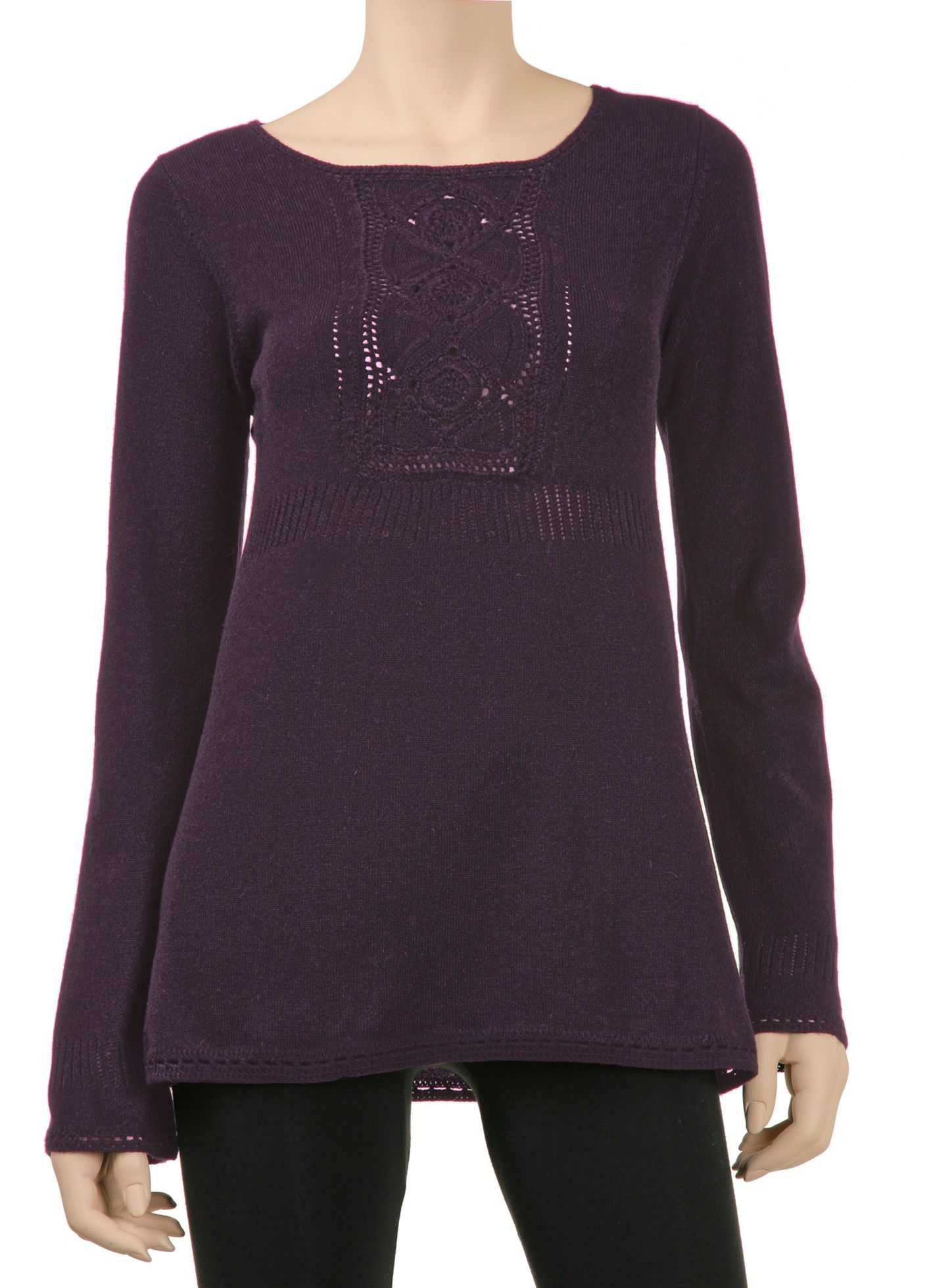 a3c9f91112e Designer Tunic Sweater | Max Studio Official by Leon Max | MaxStudio.com