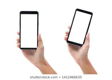 Set Woman Hand Holding Black Smartphone Stock Photo Edit Now 1412466635 Photo Editing Best Smartphone Smartphone Technology