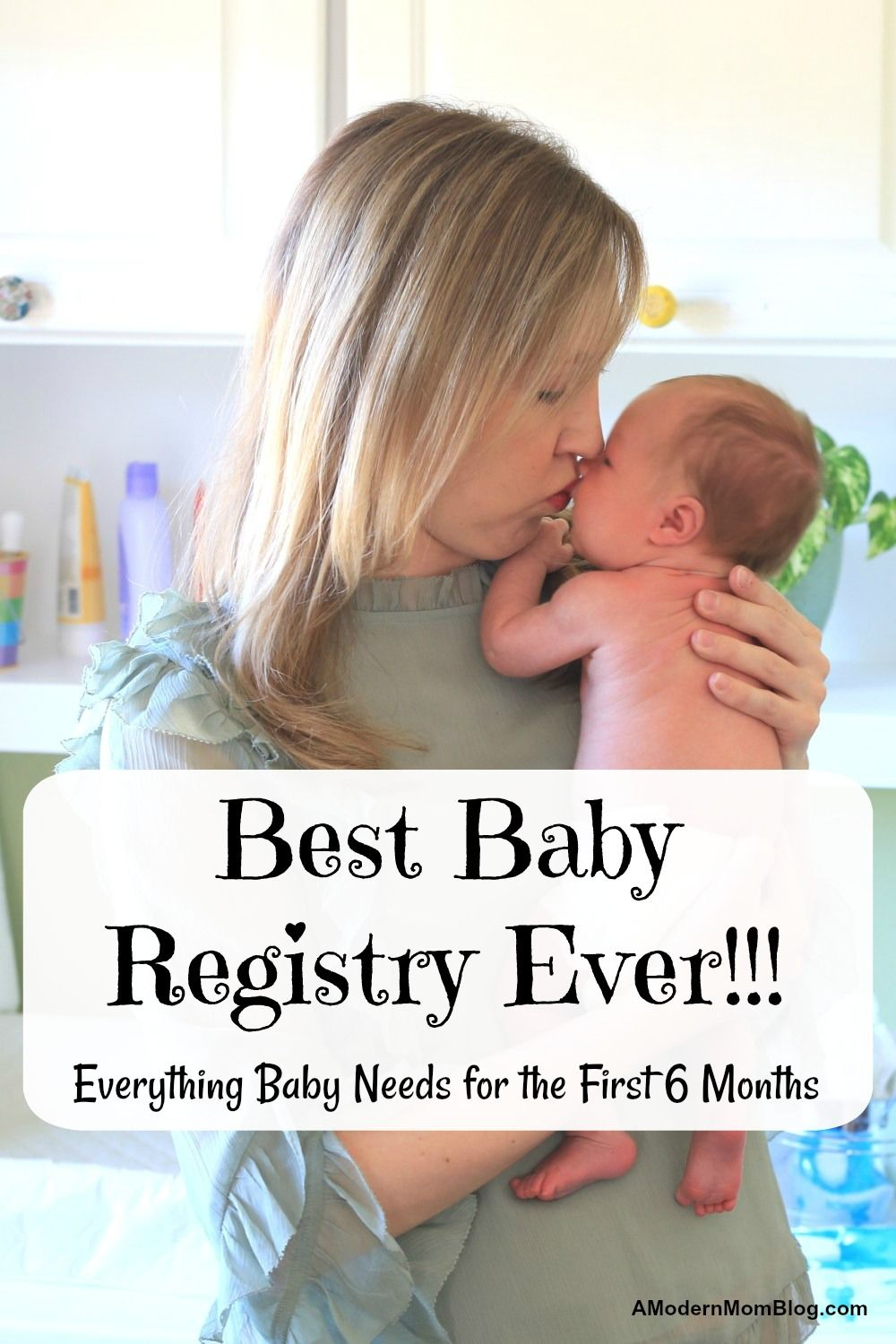 baby registry with all items from Amazon or Target. This ...