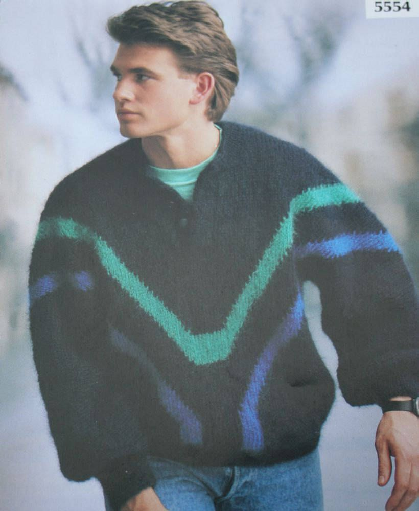 Sweater knitting pattern men jakobsdals 5554 swedish english sweater knitting pattern men jakobsdals 5554 swedish english mohair bulky weight yarn sizes 36 46 92 116 cm paper original not a pdf bankloansurffo Images