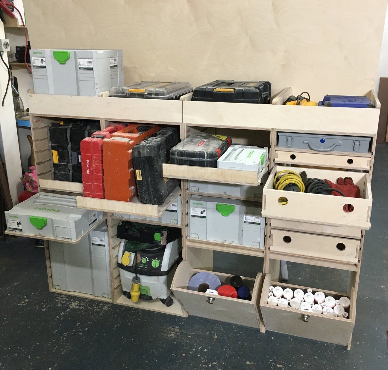 Festool Systainer Van Racking Suits Festool Boxes Tanos Boxes