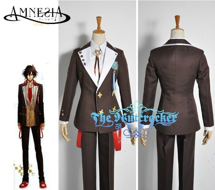 Anime Amnesia Shin Academy Collage School Uniform Cosplay Costumes Custom  Made