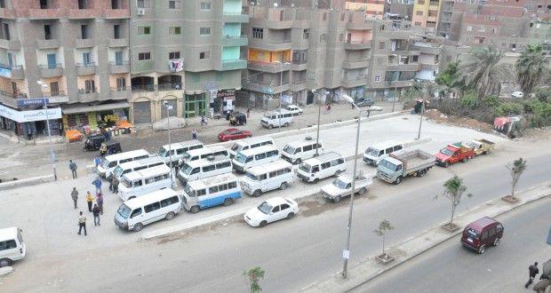 تشغيل موقف الوراق - بوابة صعيد مصر الإخبارية