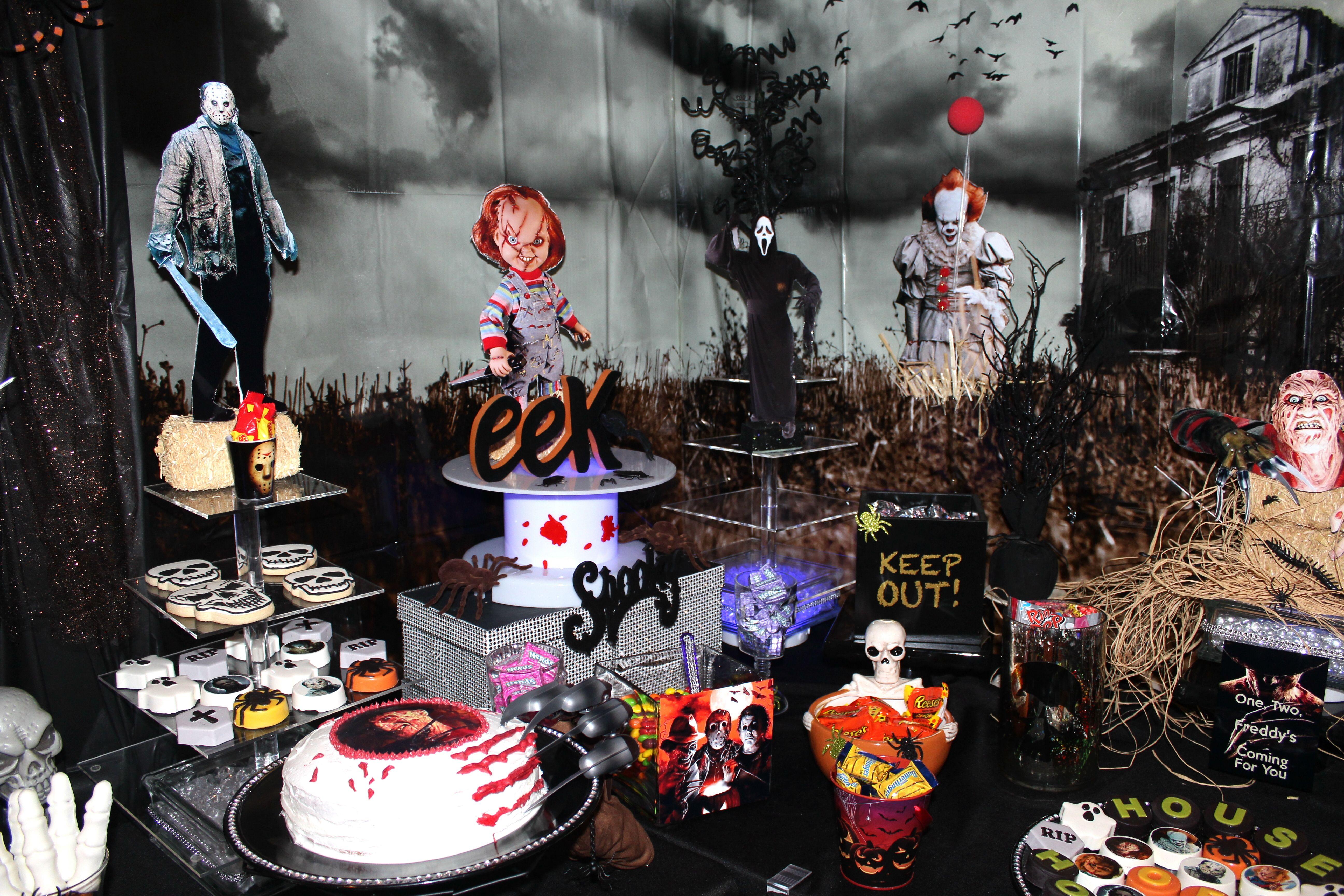 21++ Halloween treat table ideas trends