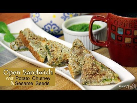 Potato Sandwich | Aloo Masala Sandwich | Indian Breakfast Recipes and Tea Time Snacks - Foods And Flavors