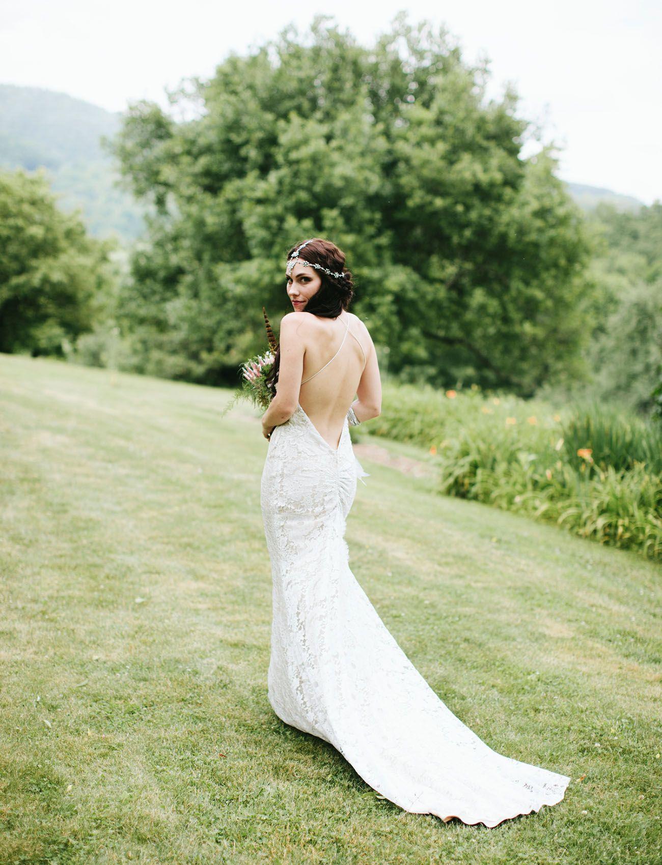 Artsy bohemian mountain wedding sarah drew elizabeth fillmore