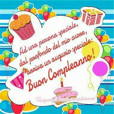 Frase buon compleanno auguri pinterest - Gute besserung italienisch ...
