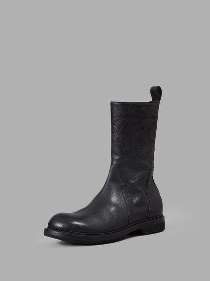 Leather CYCLOPS BIKER Boots Fall/winter Rick Owens 2wkRplQpU