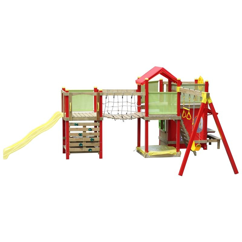 Swing Slide Climb Bridge And Tower Extension Set