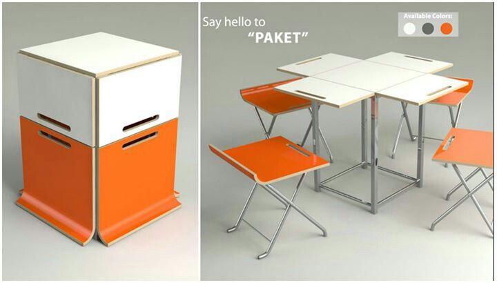Folding table | tiny house | Table, Furniture, Folding furniture
