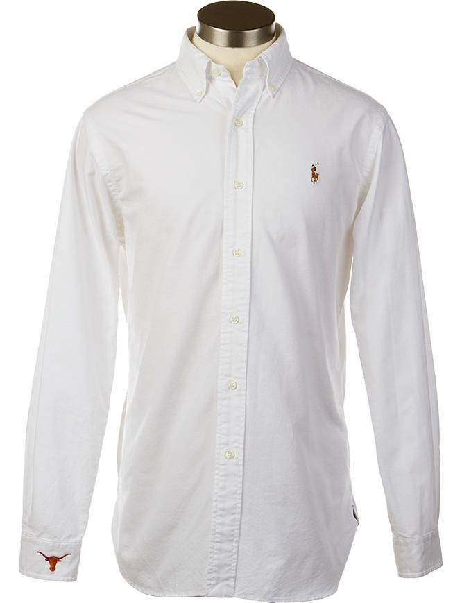 Polo Ralph Lauren Classic- Fit Pinpoint Oxford Dress Shirt