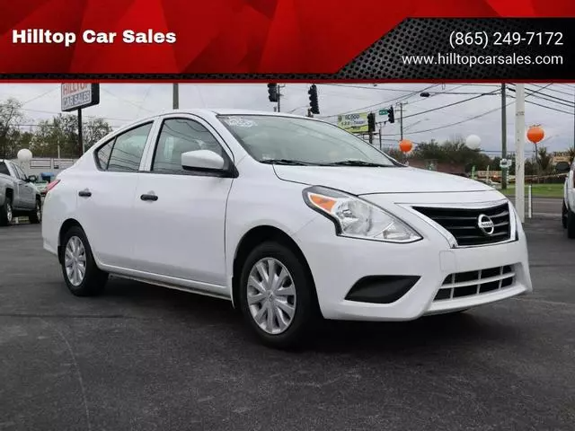 Used 2017 Nissan Versa S For Sale At Hilltop Car Sales In Knoxville Tn For 9 888 View Now On Cars Com Nissan Versa Cars Com Nissan