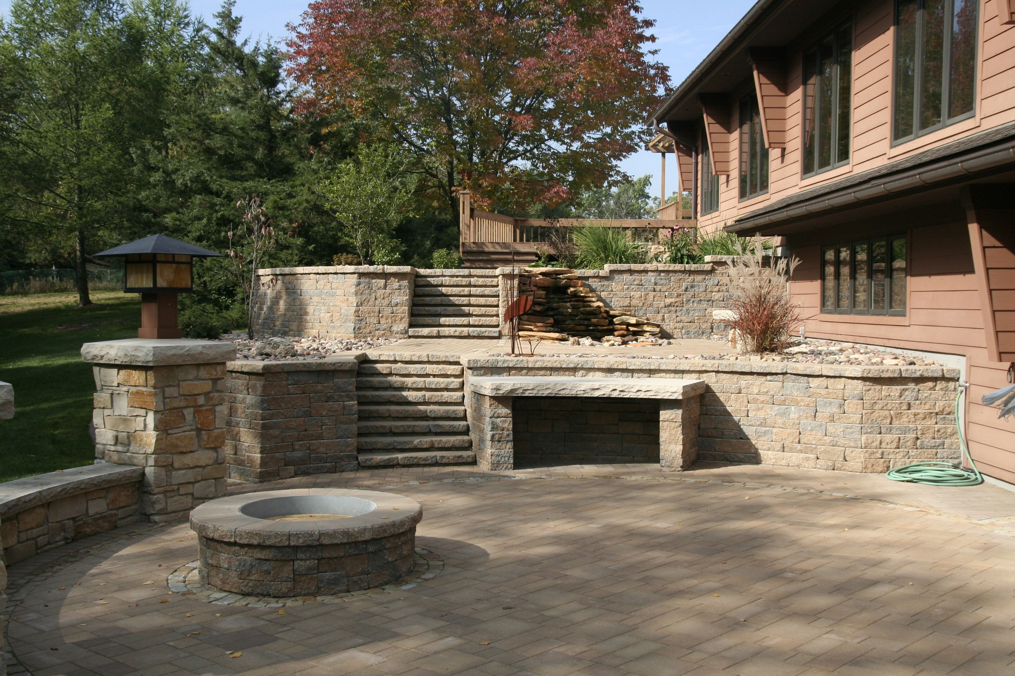 Awesome Unilock Pavers For Your Outdoor Patio Ideas: Awesome ...