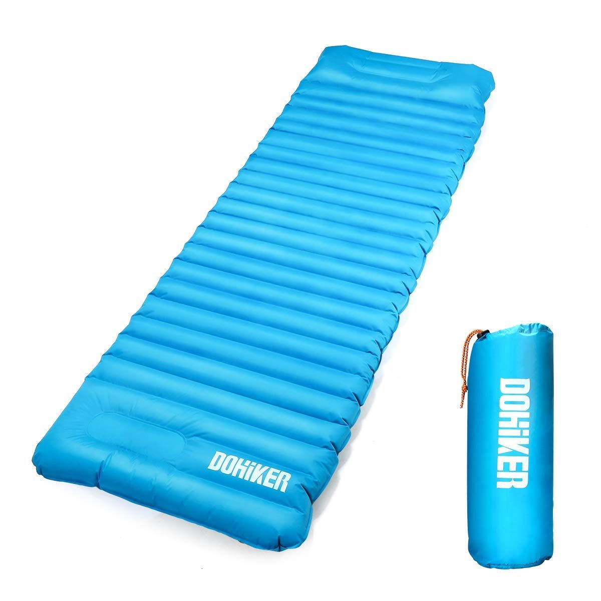 Ryaco Ultralight Sleeping Mat Camping Mattress Inflatable Sleeping Pad with