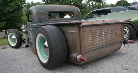 Now That S A California Rat Rod Rat Rod Pickup Hot Rod Pickup