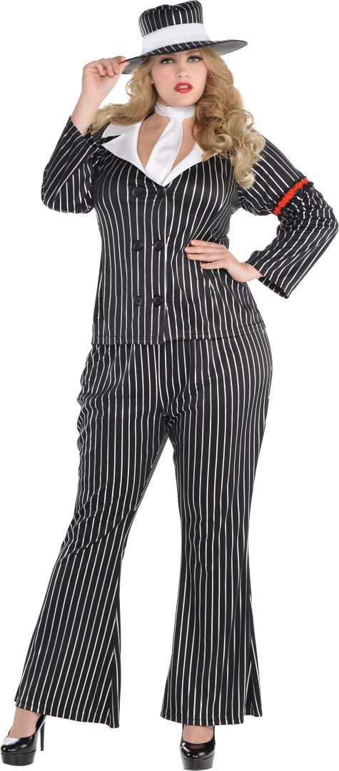 eca0a15bf97 Adult Mob Wife Costume Plus Size - Party City