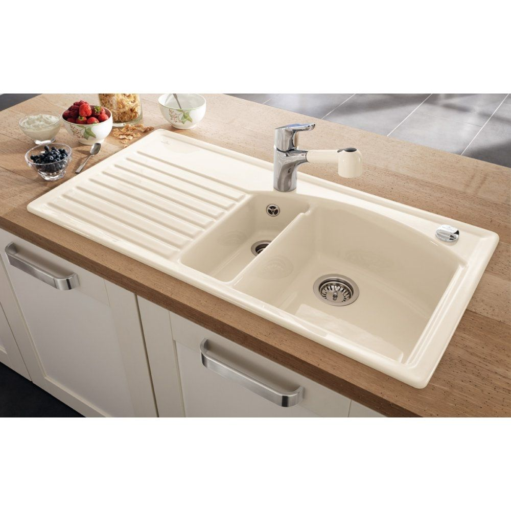 Cream Coloured Ceramic Kitchen Sinks | http://yonkou-tei.net ...
