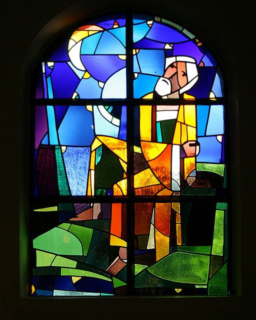 Abstract Stained Glass Window by Mukumbura, via Flickr