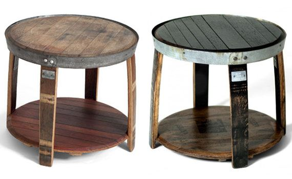 Intriguing Furniture Pieces Made Out Of Whiskey Barrels For The