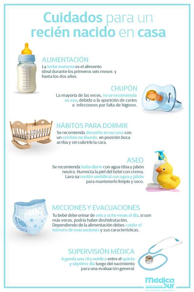 e8671d032 Estos son algunos de los  cuidados que un  bebé  reciénnacido necesita a su  llegada a casa.  mamáprimeriza