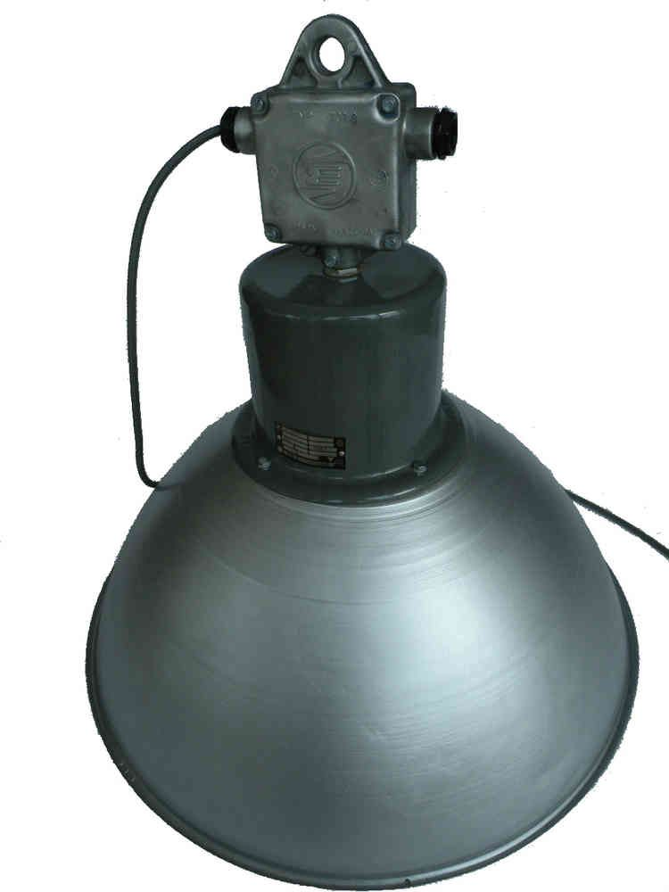 Aluminium hanglamp - BINK lampen, Vintage, leverancier van oude industriële lampen gerenoveerd
