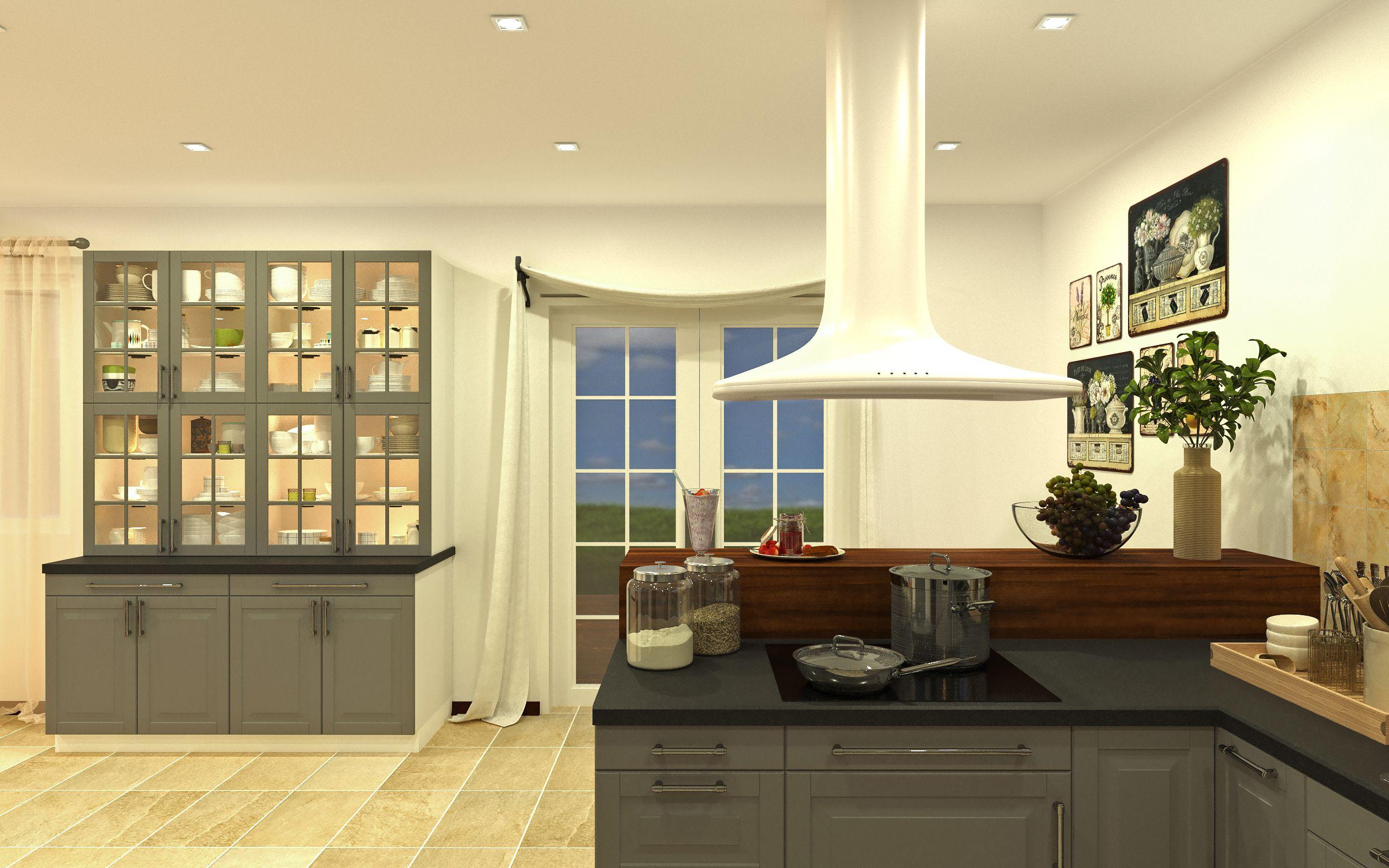 Kitchen Design, 3ds Max, Corona Renderer, IKEA