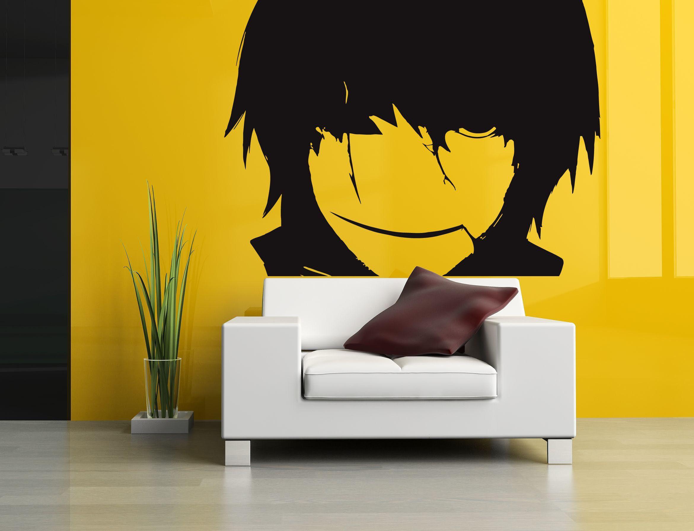 Wall Room Decor Art Vinyl Sticker Mural Decal Anime Hentai Manga Big ...