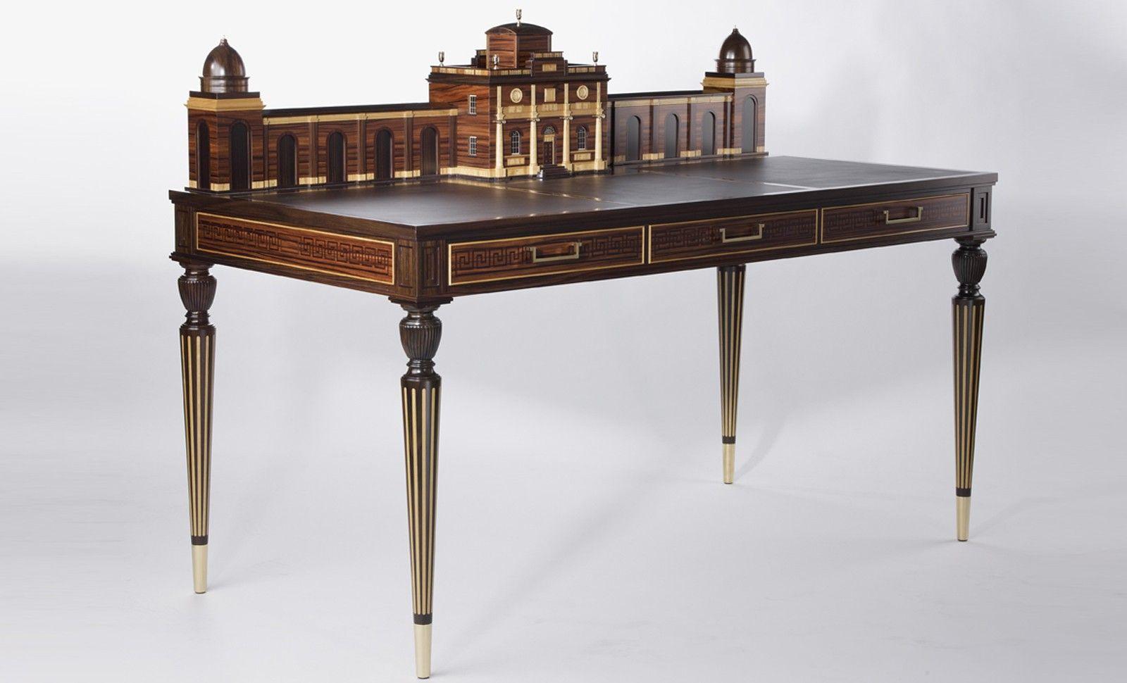 Macdonald Desk By Viscount David Linley The Grandson Of Princess Margaret S Son