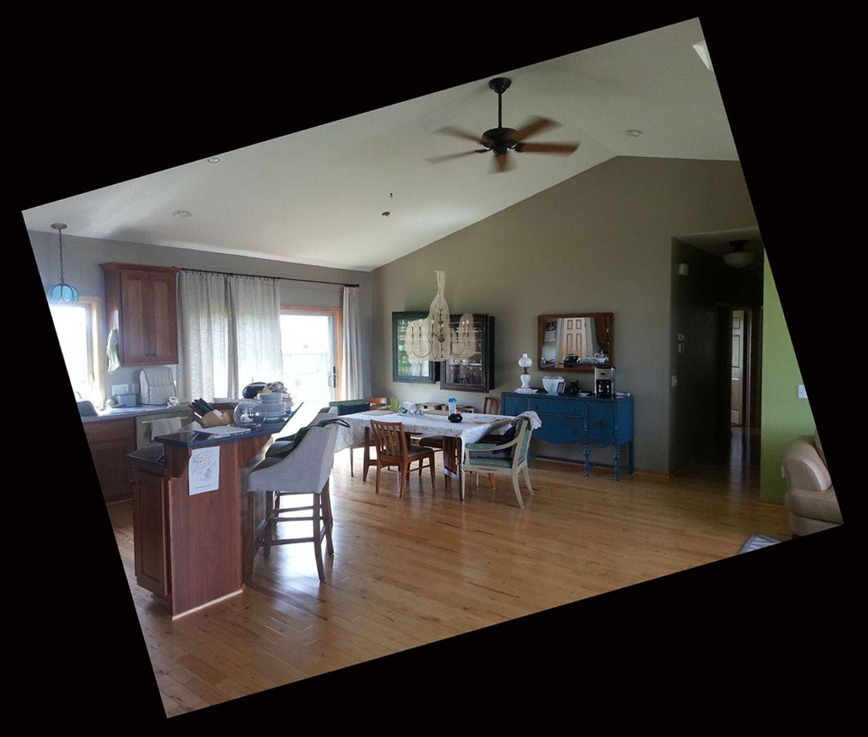 "Chandelier idea for my dining room. Horchow Salento Six-Light Chandelier 32"" diameter."