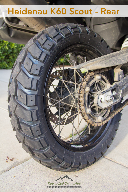 heidenau k60 scout rear tire motorcycles motorcycle. Black Bedroom Furniture Sets. Home Design Ideas