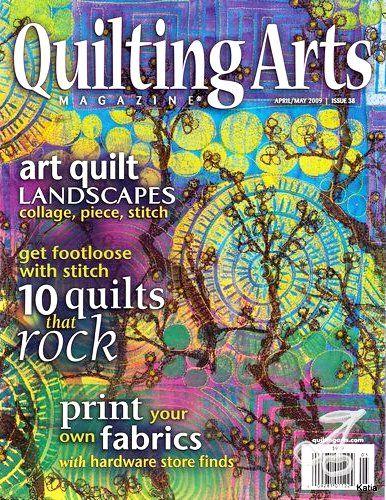 Interweaves's Quilting Arts Magazine | Art magazine | Pinterest ... : quilt art magazine - Adamdwight.com