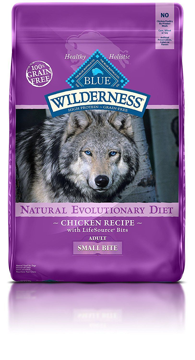 Blue Wilderness Adult Small Bite Grain Free Chicken Dry Dog Food