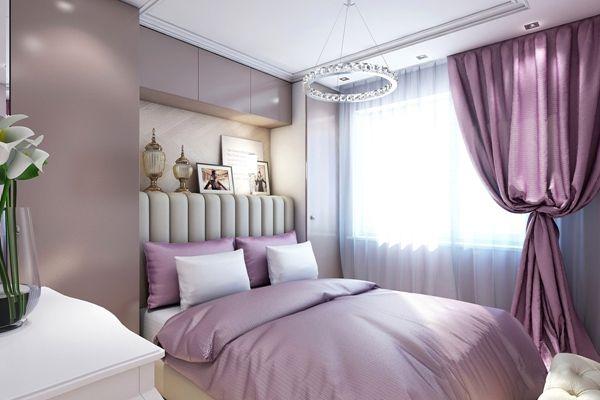 Фиолетовая, лавандовая, лиловая спальня - красиво и эстетично. Обсуждение на LiveInternet - Российский Сервис Онлайн-Дневников