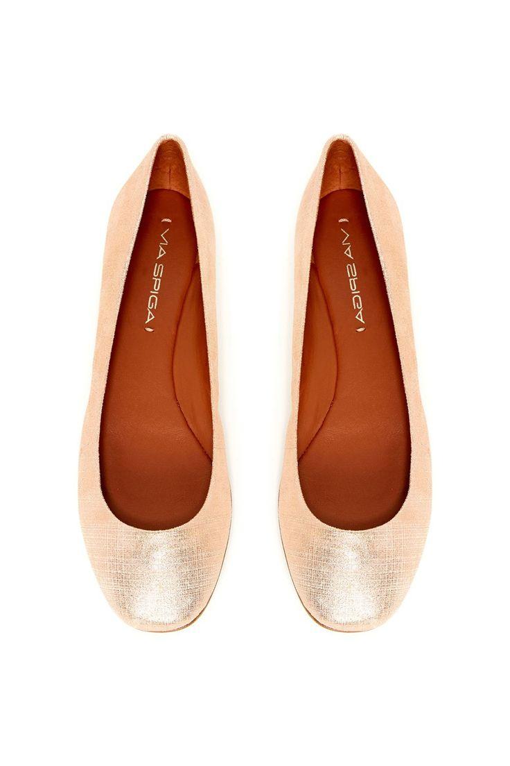 Lilac Ballet Flat