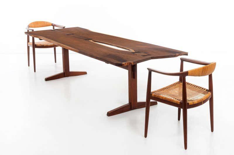 George Nakashima Trestle Table Trestle Dining Tables Modern