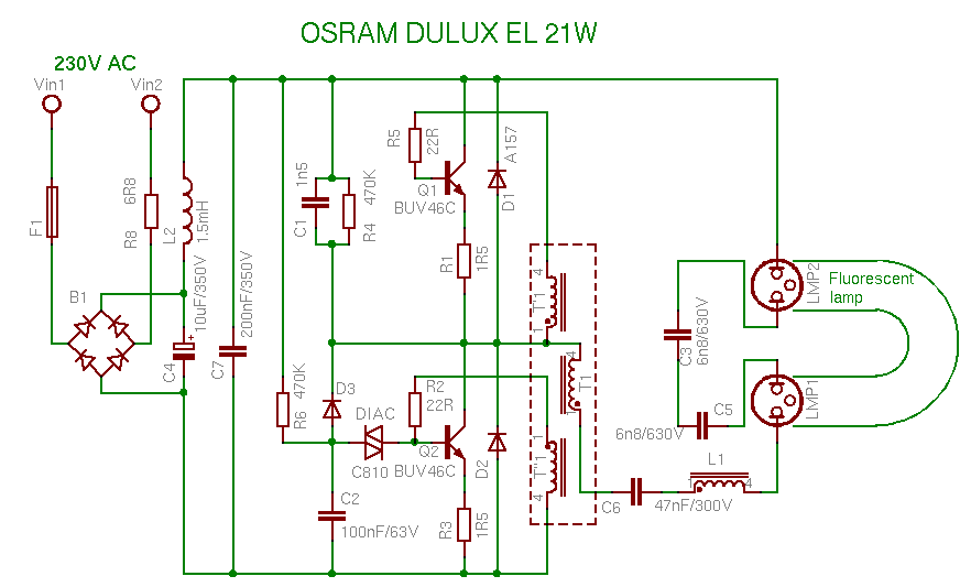 low power lamp circuit - Buscar con Google | Makers | Pinterest ...