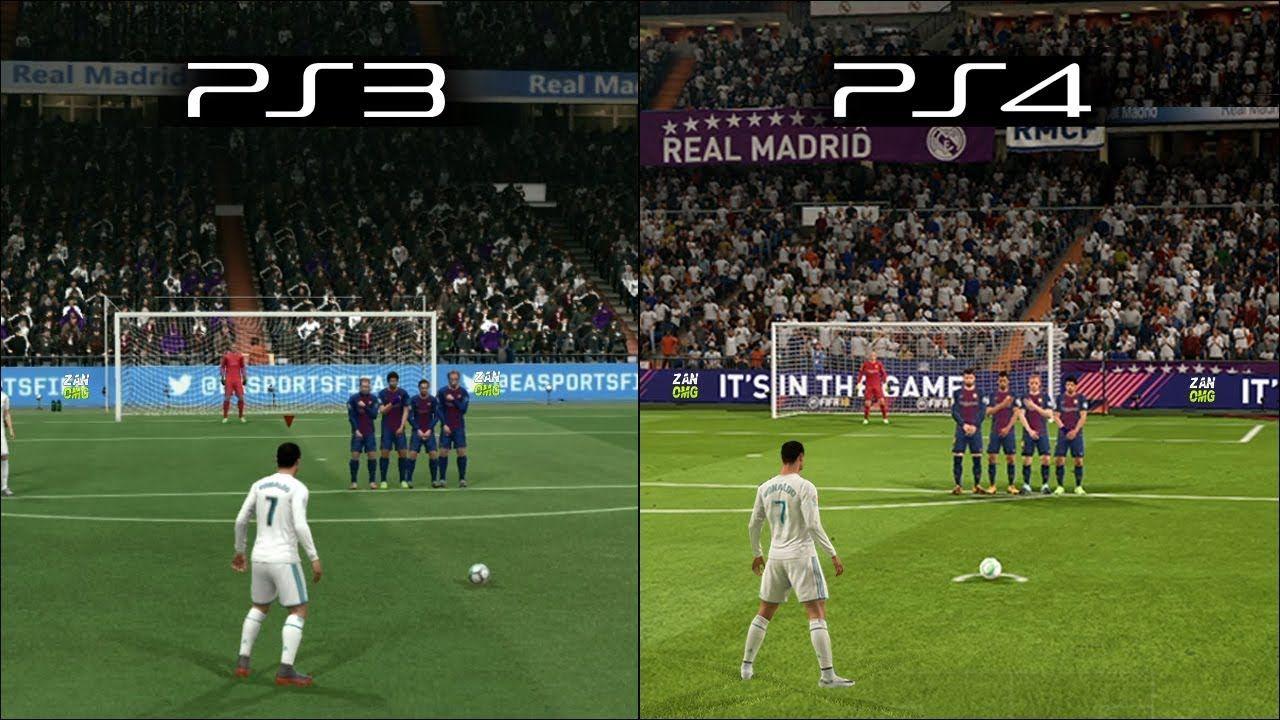 FIFA 18 | Ps3 vs Ps4 Graphics & Gameplay Comparability ... |Ps4 Graphics Vs Ps3 Fifa 14